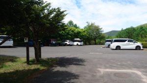 あかぎふれいあいの森 第1駐車場