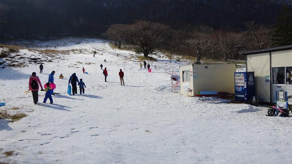 赤城山第1スキー場右ゲレンデ