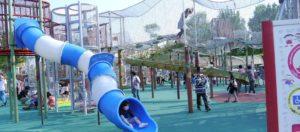 刈谷ハイウェイオアシスの大型遊具
