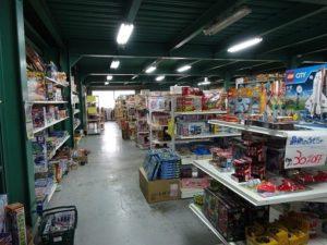 おもちゃ屋さんの倉庫春日井店 店内
