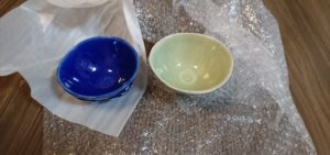 papaと息子の陶芸作品