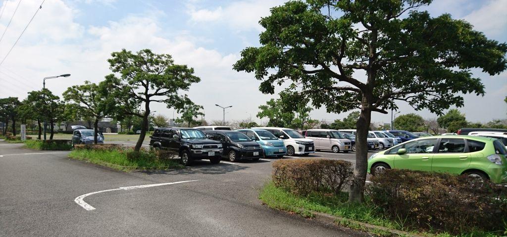 戸田川緑地第1駐車場