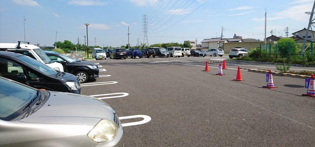 戸田川緑地第5駐車場