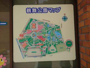 鶴舞公園の地図