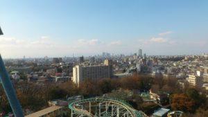 東山遊園地の観覧車からの景色