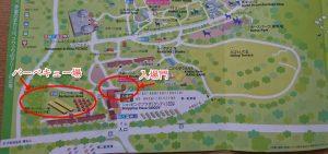 伊香保グリーン牧場BBQマップ