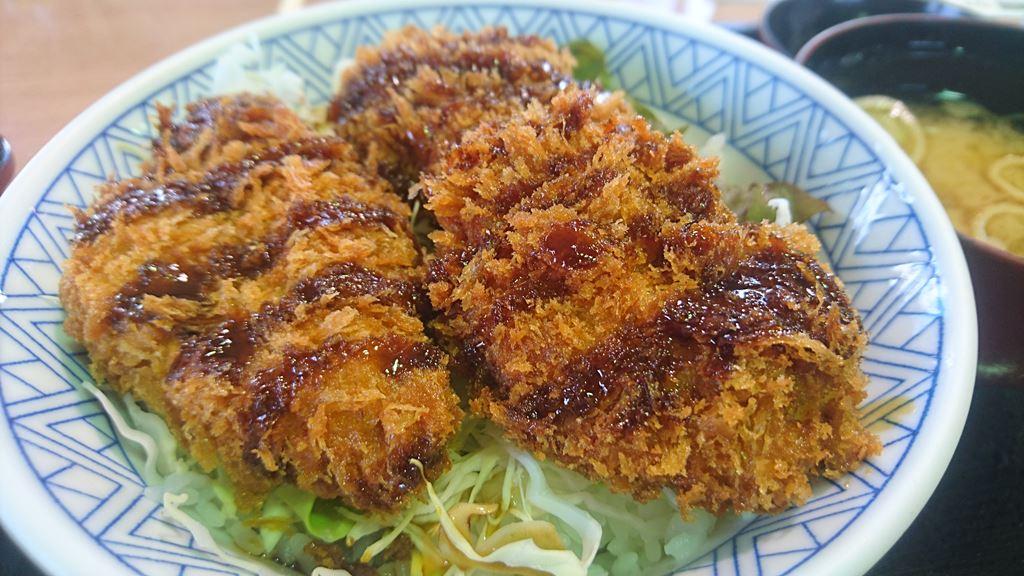 望郷の湯ソースカツ丼