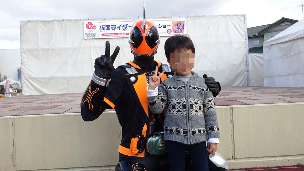 仮面ライダー握手会 撮影会