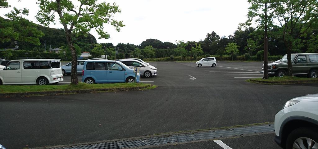 はままつフルーツパーク時之栖の駐車場