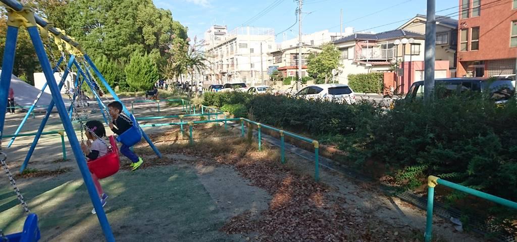 吹上公園の駐車場