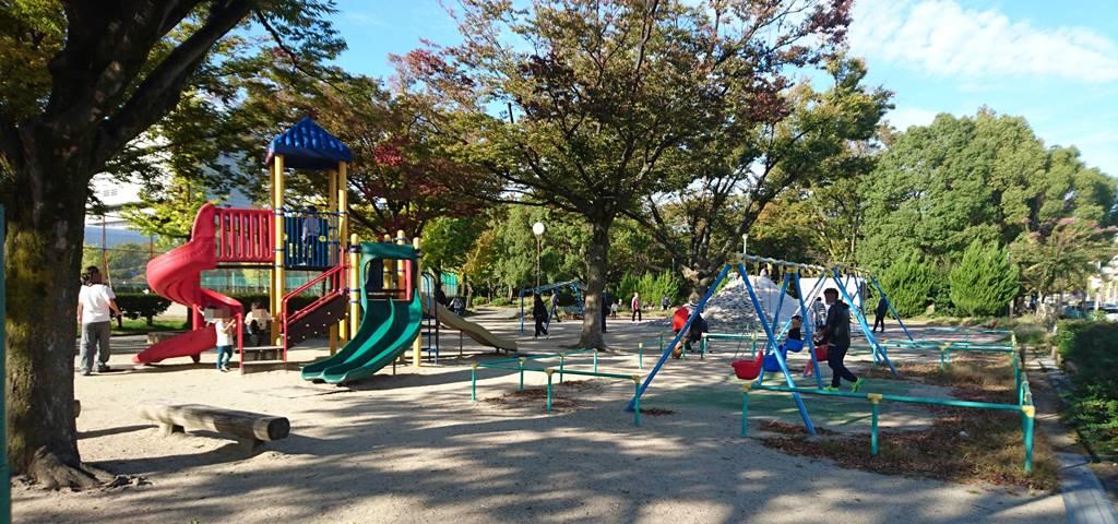 吹上公園の遊具