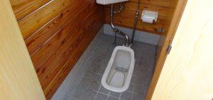 原田いちご園のトイレ