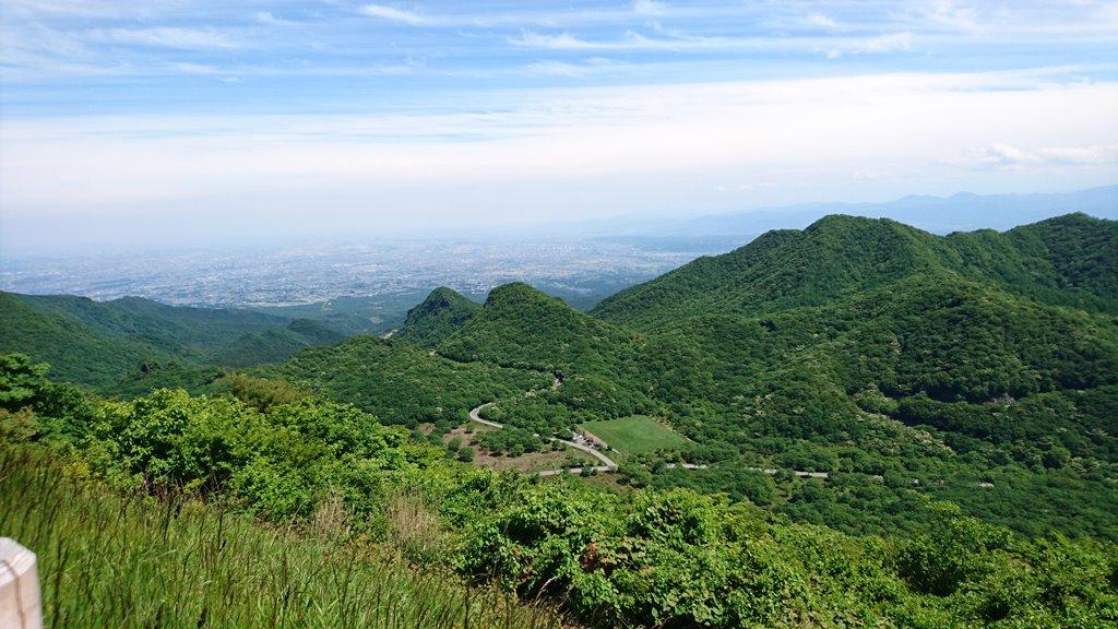 榛名富士山神社からの絶景