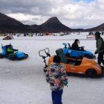 榛名湖氷上ゴーカート