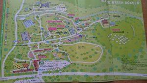 伊香保グリーン牧場全体地図(高画質版)