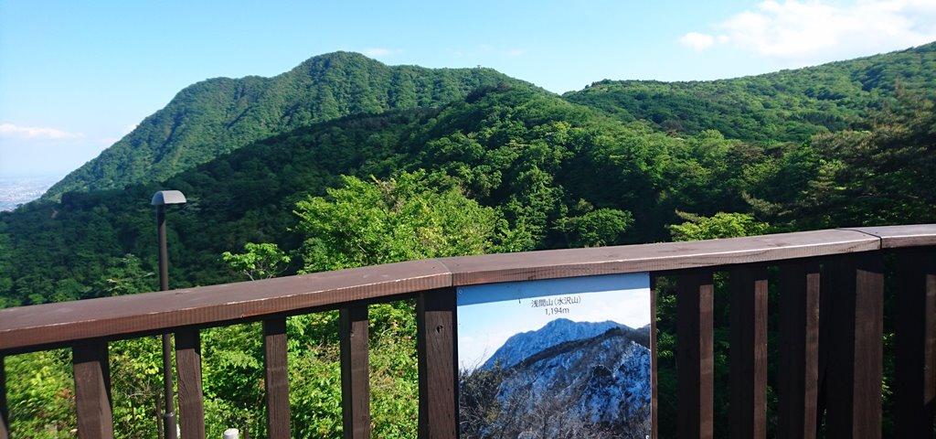 浅間山(水沢山)