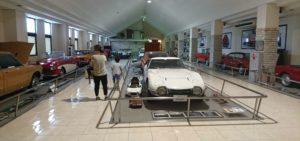 伊香保おもちゃと人形博物館 スポーツカーフロア