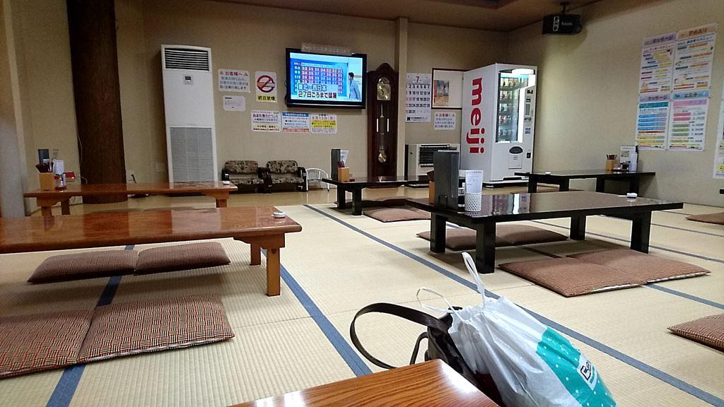 地蔵温泉スパリゾートゆにーくの食堂