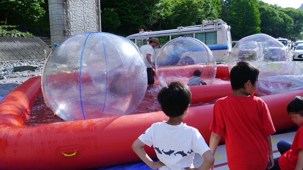 神流町鯉のぼり祭 ボールプール