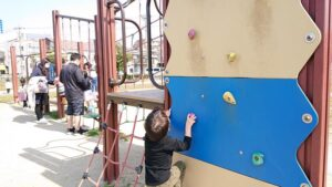 川名公園の小児向け遊具