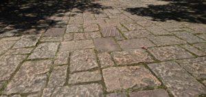 赤城クローネンベルクの石畳