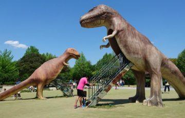 大高緑地 恐竜広場