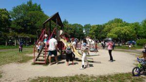 恐竜公園 西側の児童園