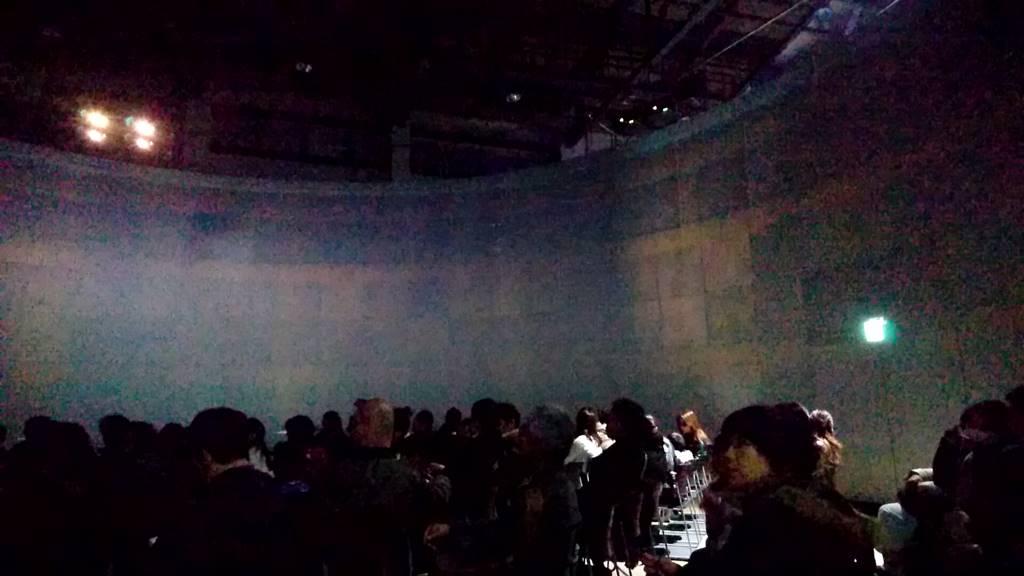 ラグナシアの3Dシアター内部