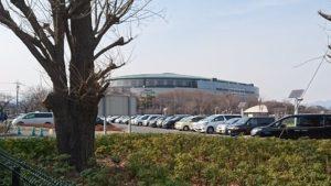 前橋公園駐車場