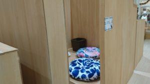 モフアニマルカフェの個室席