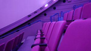 プラネタリウムの座席