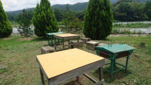 小野上温泉公園のバーベキュー
