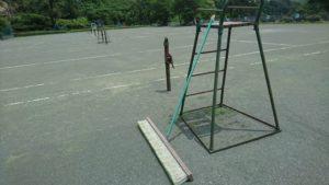 小野上温泉テニスコート ブラシ