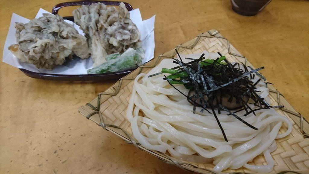 大澤屋の水沢うどん竹セット