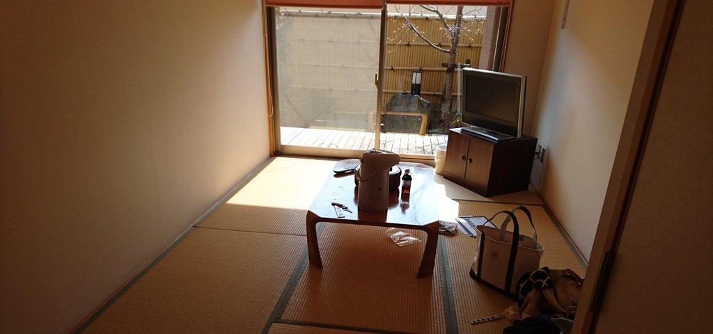 小野上温泉さちのゆ 個室の様子