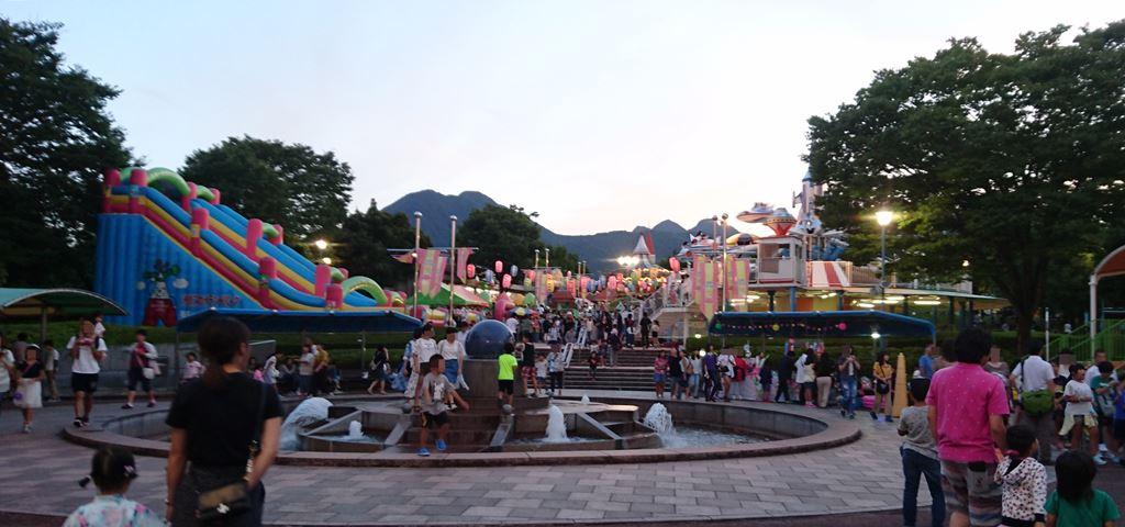 渋川スカイランドパーク 花火大会の混雑