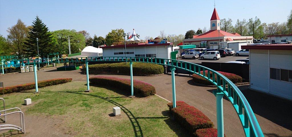 渋川スカイランドパーク サイクルモノレール景色