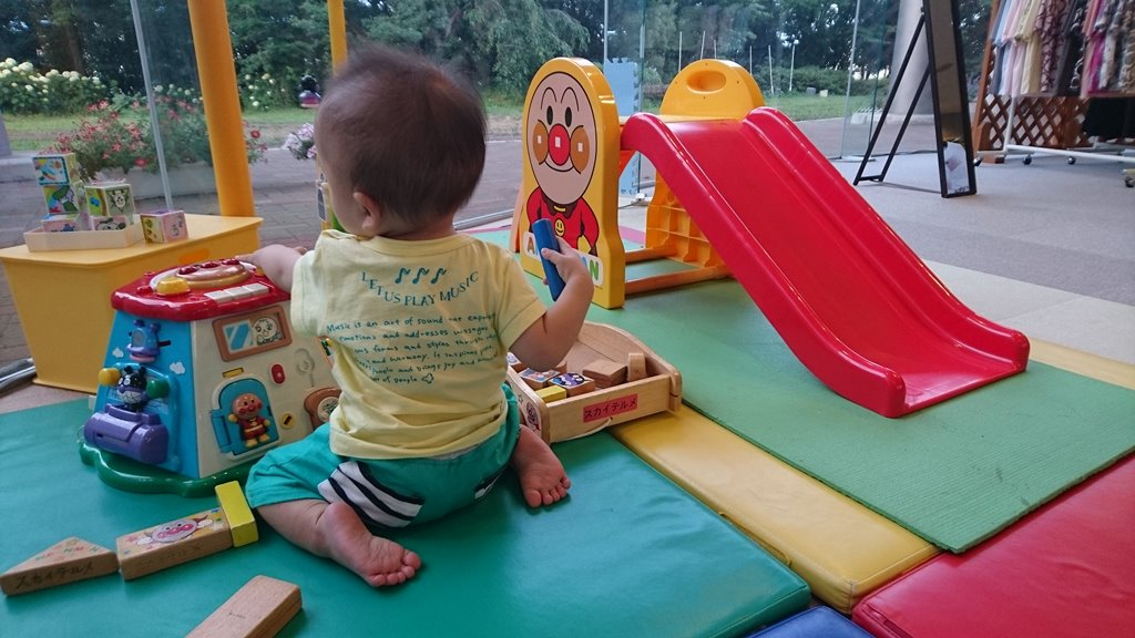 スカイテルメ渋川の子供スペース