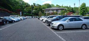 田丸屋の駐車場の様子