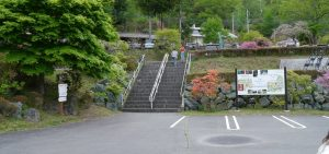 上野スカイブリッジの駐車場