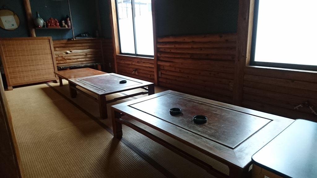 山彦の座敷式の個室